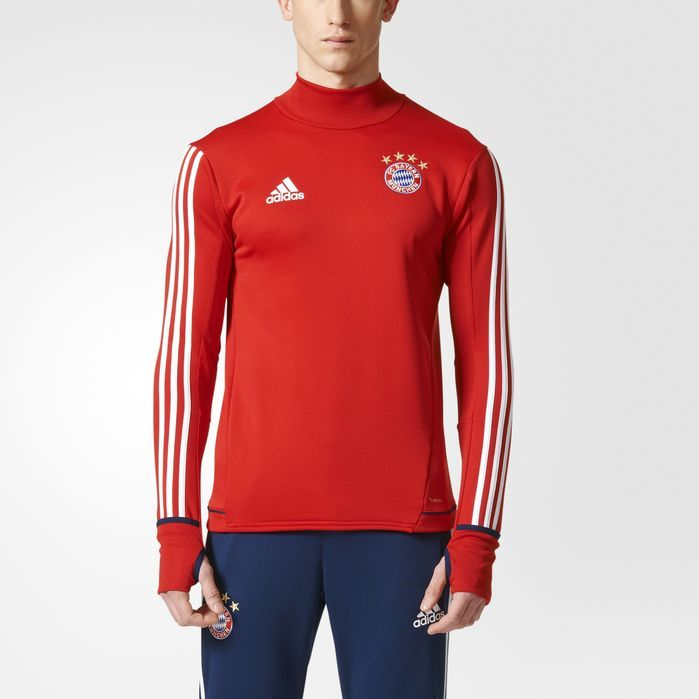 adidas FC Bayern Munich Training Top - Mens Soccer Long Sleeve Shirts