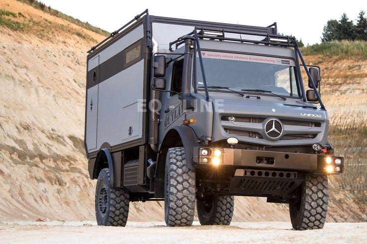 Mercedes-Benz EXPEDITIONSFAHRZEUG WELTREISEMOBIL UNIMOG U 4023 als Wohnmobil andere in Mengen