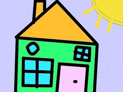#huis getekend
