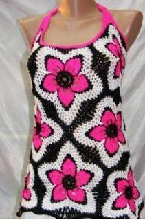 Tina's handicraft : pink flower dress
