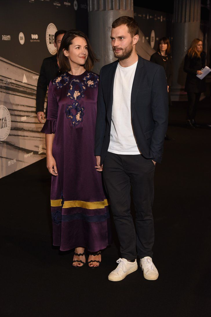   9 Times Jamie Dornan and Wife Amelia Warner Couldn't Take Their Eyes Off Each Other   POPSUGAR Celebrity Photo 6