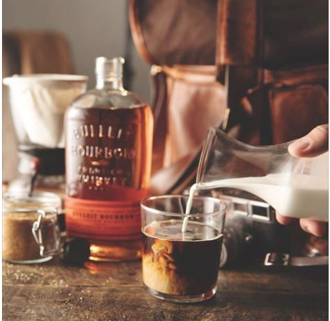 Coffee, cream, brown sugar and Bulleit bourbon—so many good things at once.  Recipe: 2.5 oz Cold Revelator Coffee Company - Petunias Blend  1.25 oz Bulleit Bourbon   Vanilla Brown Sugar Syrup (to taste)   Creamer (to taste)  Vanilla Brown Sugar Syrup:  1 cup of Water   1 cup of Brown Sugar   1 Vanilla Bean, split in half.  Stir water till the brown sugar dissolves, let simmer for 5 minutes.  Cool and store in the fridge for an hour then strain through