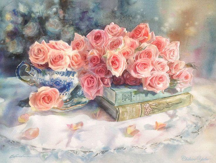 Цветочная нежность от Chihiro Yabe. Комментарии : LiveInternet - Российский Сервис Онлайн-Дневников