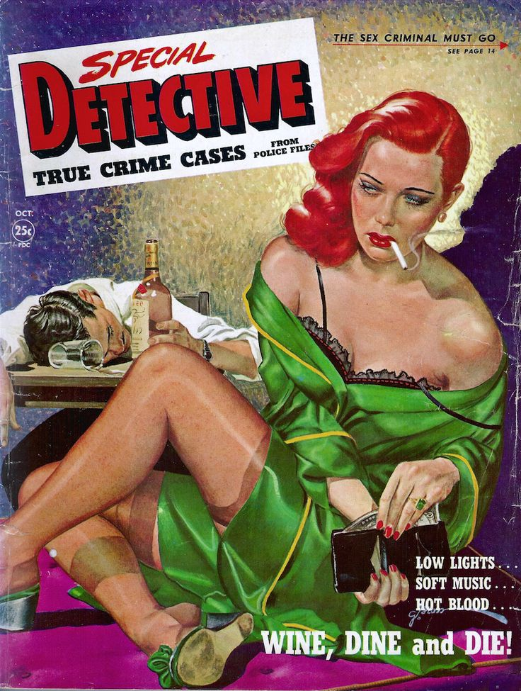 Special Detective - October 1950