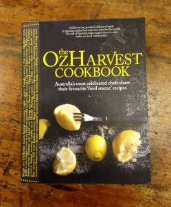 Ozharvest Cook Book includes over 40 celebrity chefs share recipes using leftover food. It's a brilliant book and one that keeps on giving – I was amazed to learn that with every $60 cookbook sold, they can afford to serve over 100 meals to the needy.