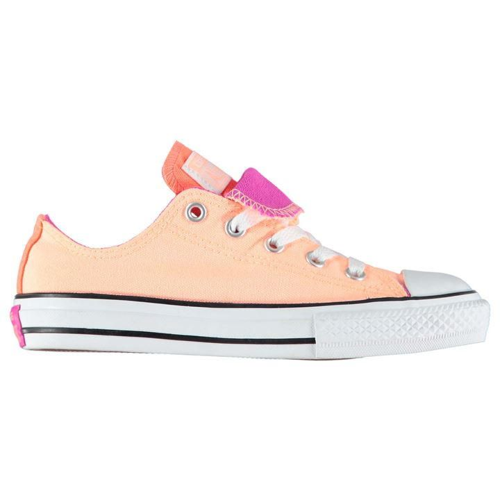 Converse   Ox Double Tongue Fun Trainers by Converse   Children's Trainers