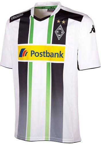 Borussia Mönchengladbach 14-15 Trikots veröffentlicht. Das neue Borussia Mönchengladbach 2014-15 Heimtrikot kommt mit einem einzigartigen Design, um dem 1974 Trikot zu ähneln, während das Borussia Gladbach 2014-15 Auswärtstrikot hauptsächlich grün ist.