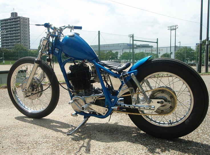 Yamaha SR 400 by K & W | Japan