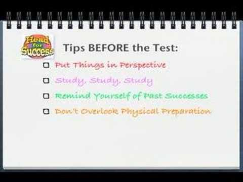 Test Anxiety   School Counseling   Pinterest