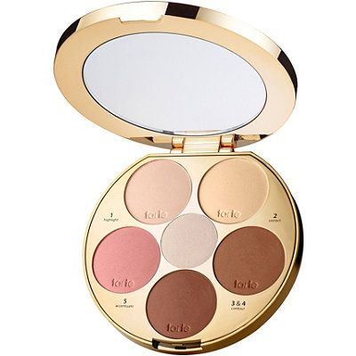 Tarte Tarteist Contour Palette: Drop 5 lbs in 5 minutes and paint by numbers with this all-in-one face slenderizing palette. With 6 numbered contouring shades and a coordinating visual guide, you can highlight, correct, contour and accentuate your best features.