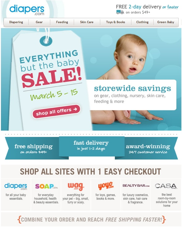 giant SALE, cute baby, great complimentary, high contrast colors.