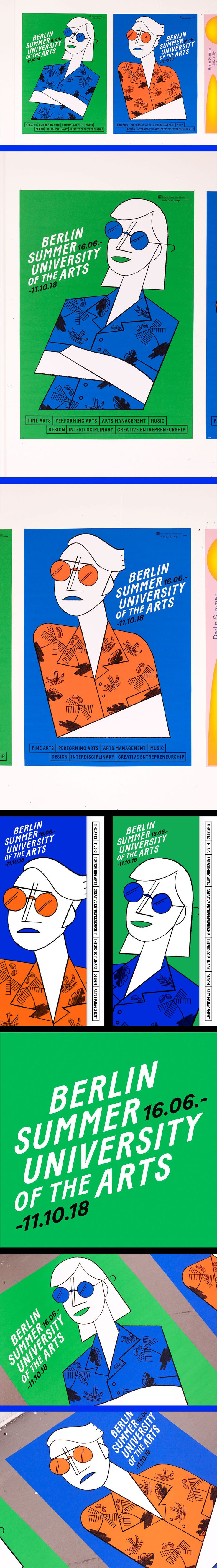 """Check out this @Behance project: """"Summer University of the Arts 2018"""" https://www.behance.net/gallery/54665093/Summer-University-of-the-Arts-2018"""