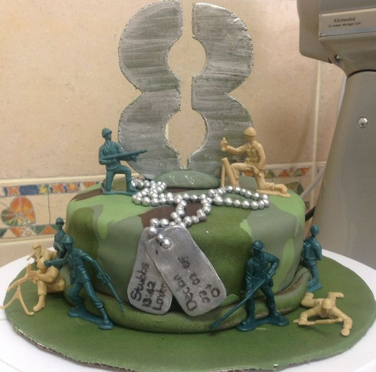 13 best military cakes images on Pinterest Military cake Army