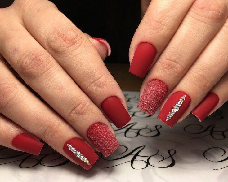 Безумно красивый маникюр, Бордовые ногти, Вечерние ногти, Деловой маникюр, Идеи матового маникюра, Идеи новогоднего маникюра 2017, Идеи яркого маникюра, Маникюр на 8 марта