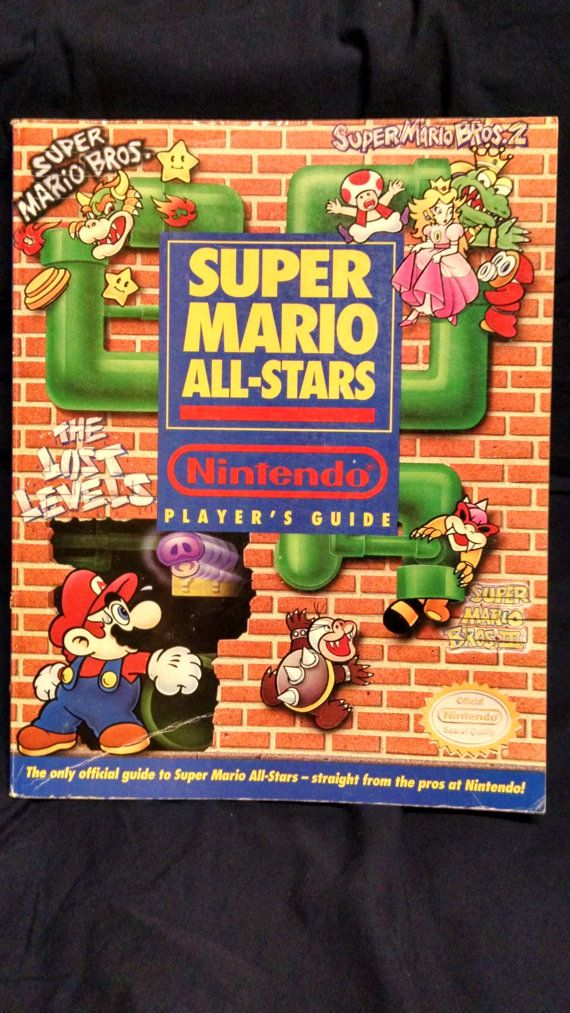 Super Mario All-Star Player's Guide 1993 by HECTORSVINTAGEVAULT