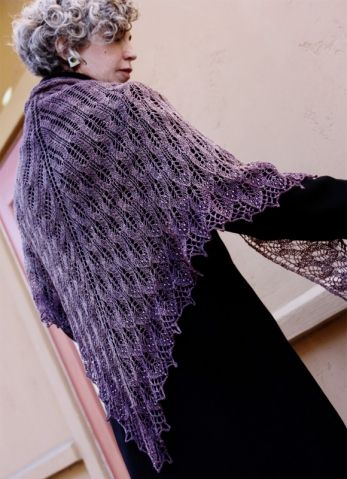 схемы ажурного вязания спицами для женщин