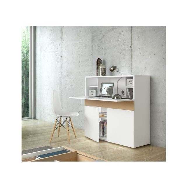 bureau r tractable design focus achatdesign prix avis. Black Bedroom Furniture Sets. Home Design Ideas