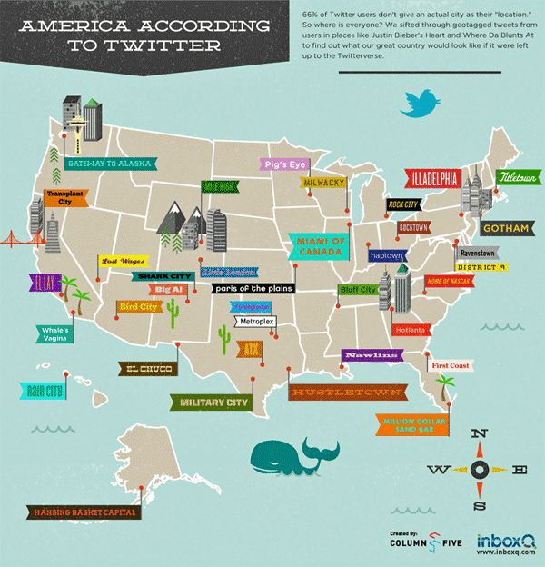 Best US Maps Images On Pinterest United States Infographics - Famous new yorkers map of us