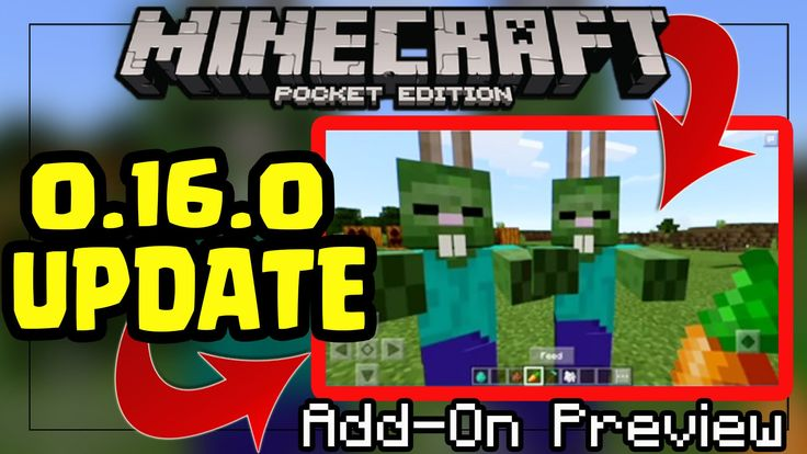 Minecraft PE 0.16.0 UPDATE ADDONS PREVIEW PE MCPE 0.16.0 Addon PREVIEW Minecraft PE (Pocket Edition)