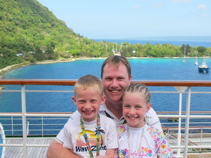 #AustraliaDayOnboard Pacific Pearl 2011