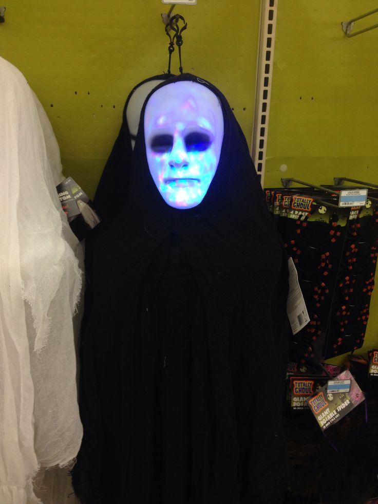 hanging phantom with light up face at kmart halloween decorations - Kmart Halloween Decorations