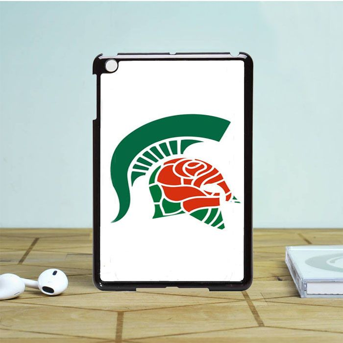 Michigan Spartan Roses iPad Mini 2 Case Dewantary