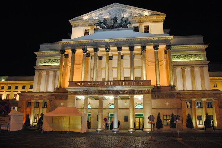 DecoArt24.pl - Wieczorowa pora-Teatr Wielki i Opera -Warszawa.