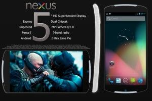 Google Nexus 5 News Rumored Release