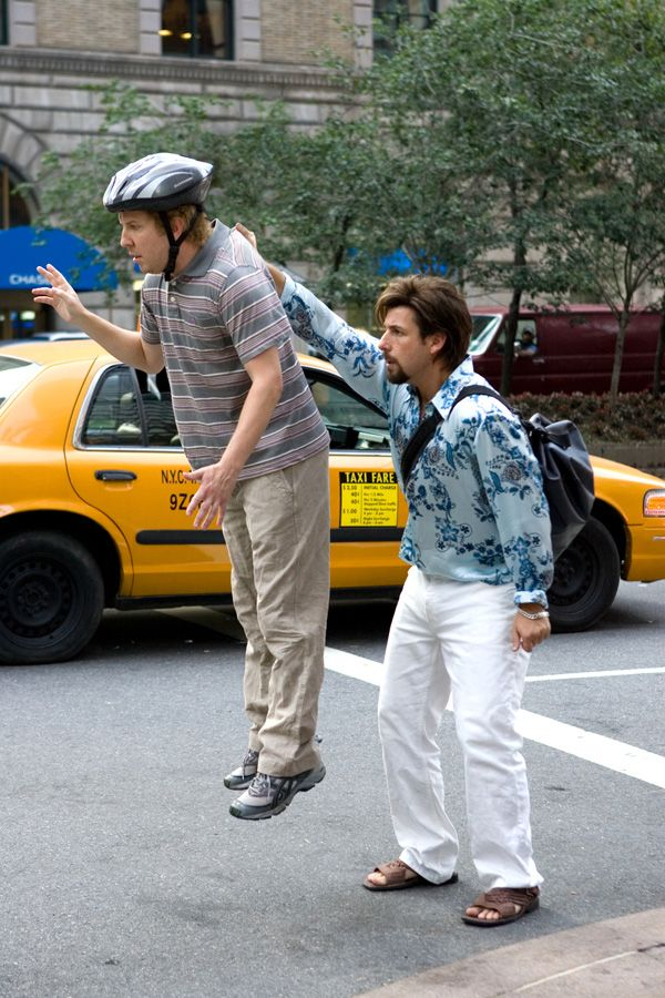 Michael (Nick Swardson), Zohan Dvir (Adam Sandler) ~ You Don't Mess with the Zohan (2008) ~ Movie Photos #amusementphile