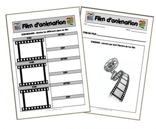 Création d'un film d'animation - La classe de Mallory