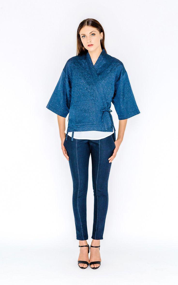 kochi kimono | papercut patterns sakura collection
