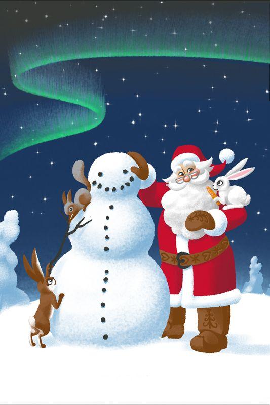 2. Tonttutieto - Joulupukin lumiukko