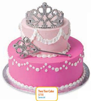 Walmart Pretty Princes 2 Tier Cake