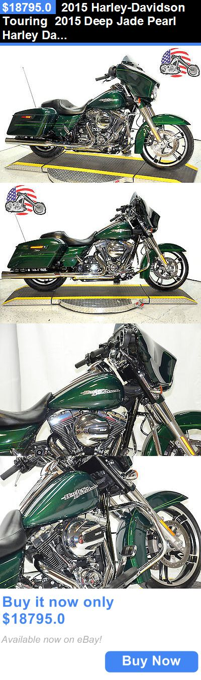 Motorcycles: 2015 Harley-Davidson Touring 2015 Deep Jade Pearl Harley Davidson Street Glide Special Flhxs One Owner 11K BUY IT NOW ONLY: $18795.0