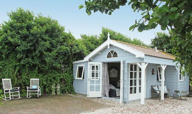 Een knus romantisch huisje - Bijzondere overnachtingen in Nederland - Bijzondere-Overnachting.nl