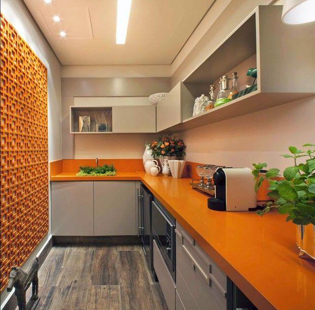 Décor do dia: cor e ousadia na cozinha
