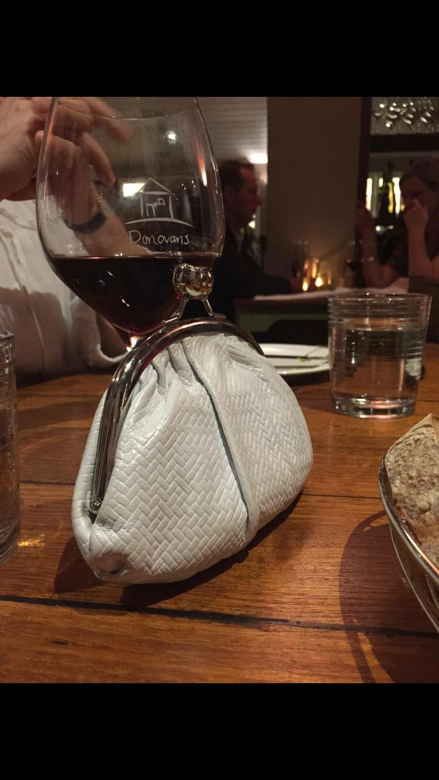 Delicious dinners with my Slouch Clutch
