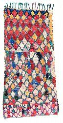 Marokkaanse Berber tapijt Boucherouite 275 x 120 cm