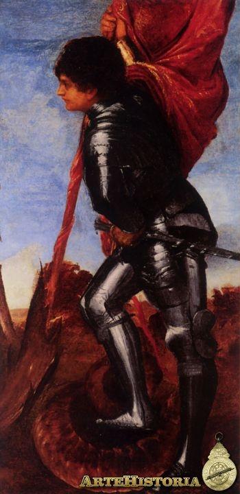 San Jorge y el dragón - Obra - ARTEHISTORIA V2