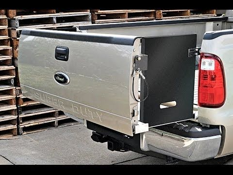 DeeZee Pickup Bed Extender - YouTube | Truck Equipment ...