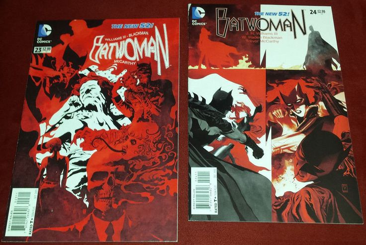 Batwoman lot #23 #24 (2013 New 52 DC comics Bane Batman Knightwing Gotham