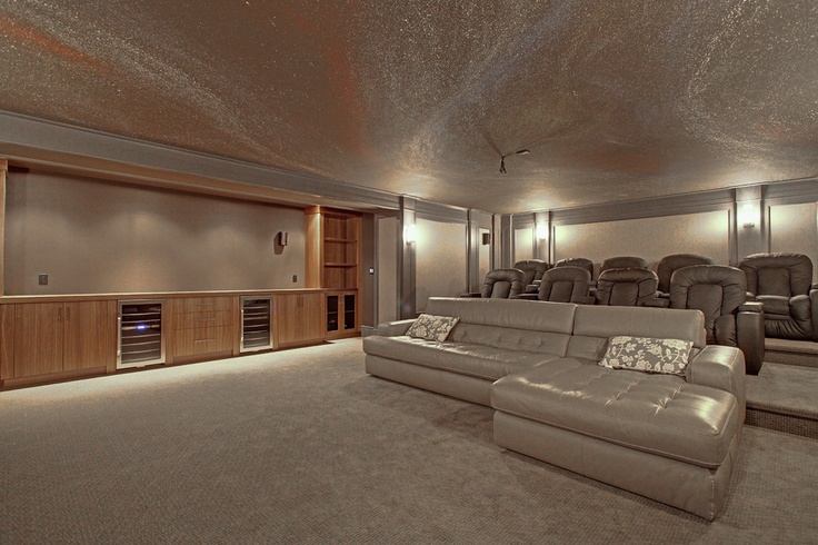 Enjoy your favorite flick in this private 12-seat home theatre   191 Burgundy Drive, Oakville