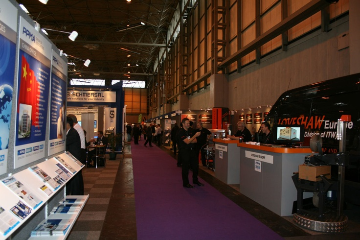 More images of the stands at the PPMA 2012 trade show in Birmingham's NEC