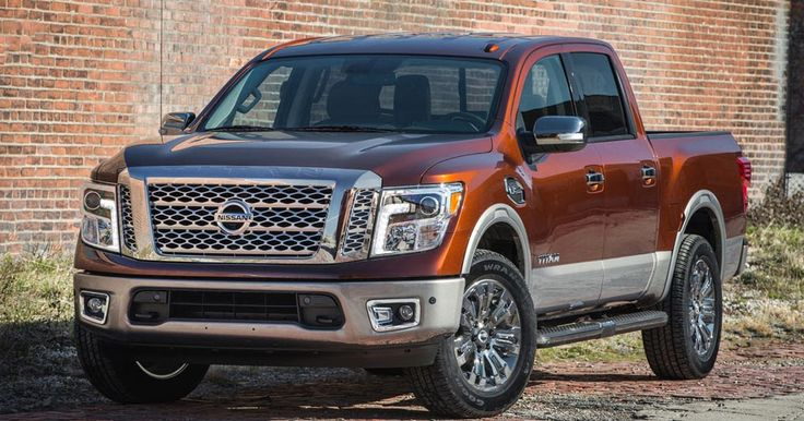Nissan Prices Gasoline-Powered 2017 Titan Crew Cab From $34,780 #New_Cars #Nissan
