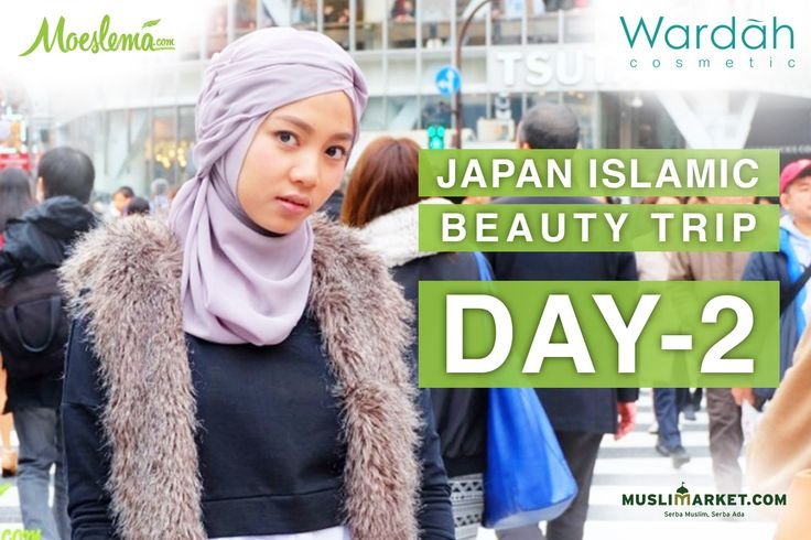 Japan Islamic Beauty Trip: Day Two, Crowded Shibuya