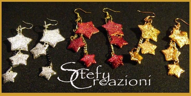 Orecchini natalizi, by Stefy Creazioni, 4,00 € su misshobby.com