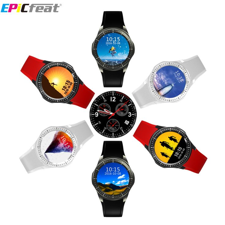 EPiC Bluetooth Wifi GPS Heart Rate Smart Watch Phone for Android iOS 2G 3G Pedometer Sleep Tracker Health Smart Watch DM368 #Affiliate