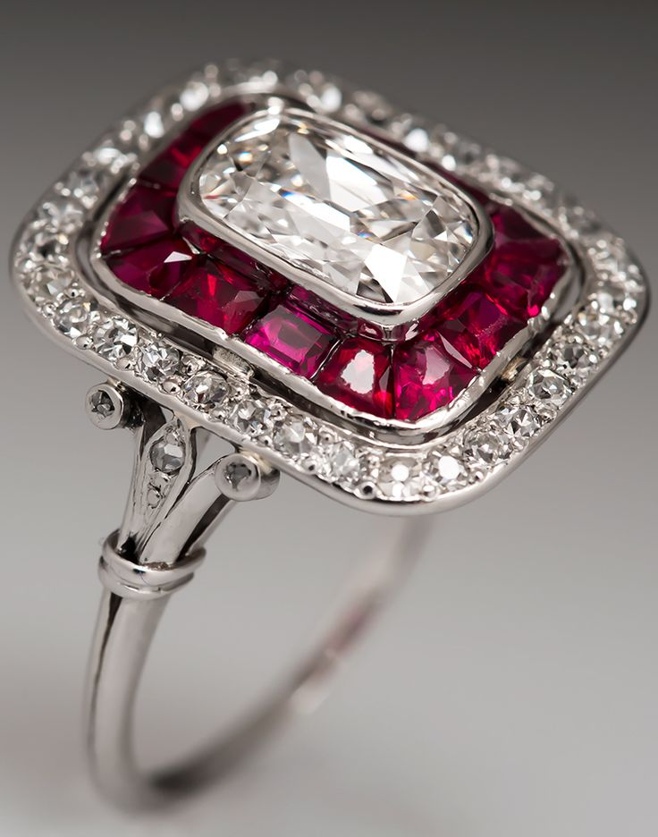 This ring is more beautiful than when it was made about 100 years ago.