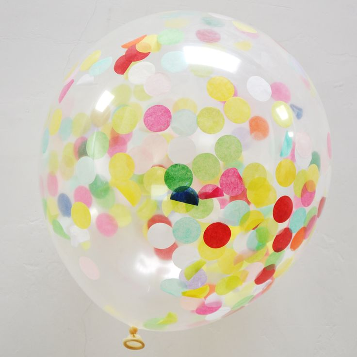 Wholesale 12 Inch Transparent Latex Confetti Balloons For Wedding Party Tissue Paper Decor Pre-Filled With Confetti