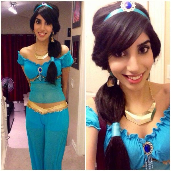 Princess Jasmine In Real Life [Cosplay]  This one is somewhat modest, at least as much as jasmine can be